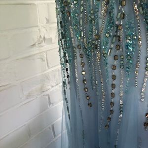 Tony Bowls Dresses - Tony Bowls Paris Strapless Mermaid Prom Dress
